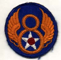 Original Eighth Air Force Badge