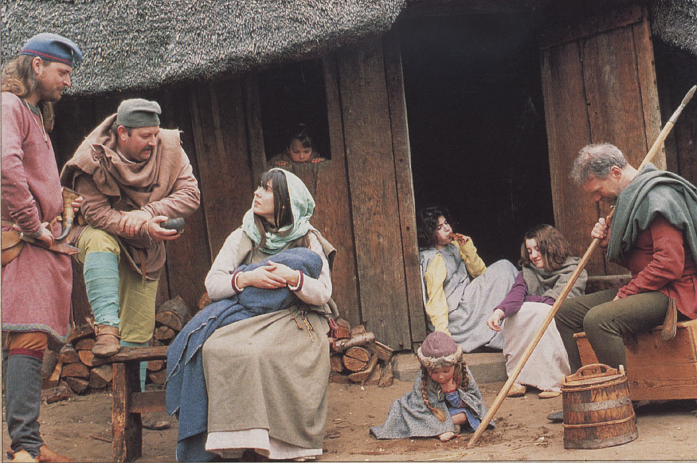 Anglo-Saxon Life - kinship and lordship